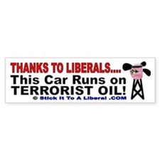 This Car Runs On Terrorist Oil!