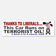 This Car Runs On Terrorist Oil!