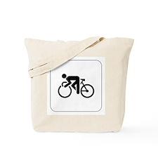Cycling Icon Tote Bag