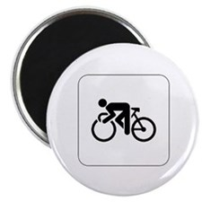 Cycling Icon Magnet