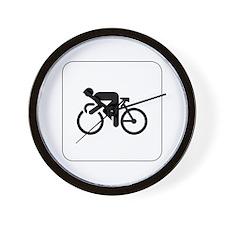 Cycling Icon Wall Clock