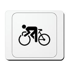 Cycling Icon Mousepad