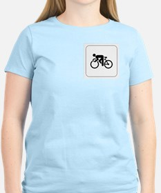 Cycling Icon Women's Pink T-Shirt