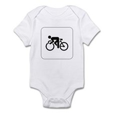 Cycling Icon Infant Creeper