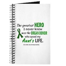 Hero I Never Knew 1 (Aunt) Journal