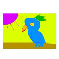 Piper's Bird Postcards (Package of 8)