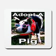 Adopt A Pig Mousepad