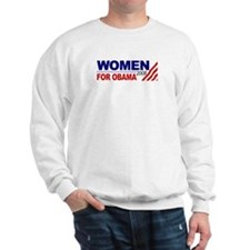 Women for Obama 2008 Sweatshirt