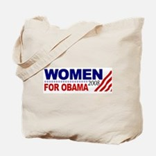 Women for Obama 2008 Tote Bag