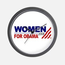 Women for Obama 2008 Wall Clock