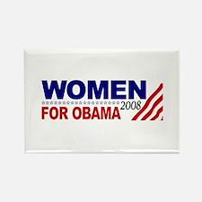 Women for Obama 2008 Rectangle Magnet