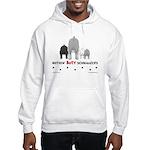 Nothin' Butt Schnauzers Hooded Sweatshirt