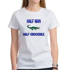 Half Man Half Crocodile Tee