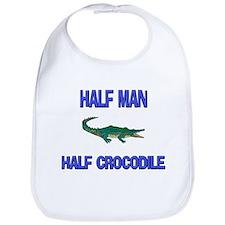 Half Man Half Crocodile Bib