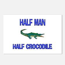 Half Man Half Crocodile Postcards (Package of 8)
