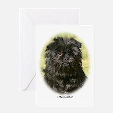 Affenpinscher 9Y410D-014 Greeting Card
