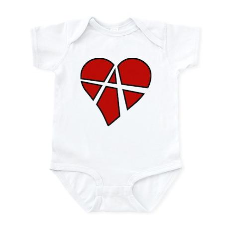 Radical Heart Infant Bodysuit