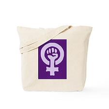 Feminist Woman Power Tote Bag