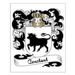 Constant Family Crest Small Poster