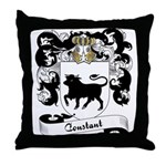 Constant Family Crest Throw Pillow