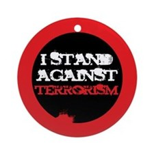 Anti-Terrorism Ornament (Round)