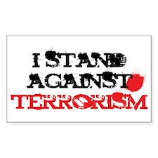 Anti-Terrorism Rectangle Decal