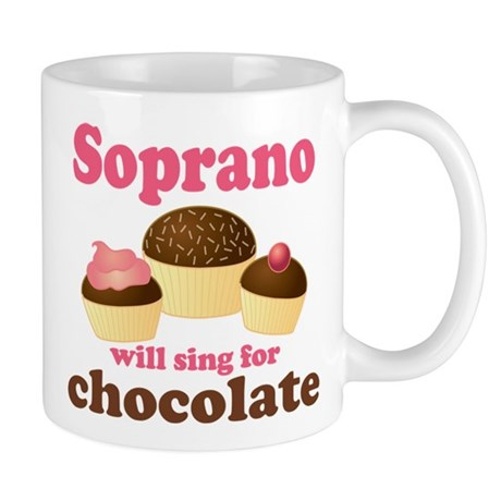 Chocolate Soprano Mug