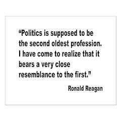 Reagan Politics Quote Posters