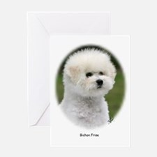 Bichon Frise 9Y362D-058 Greeting Card