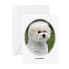 Bichon Frise 9Y362D-058 Greeting Cards (Pk of 20)