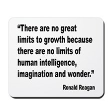 Reagan Growth Quote Mousepad