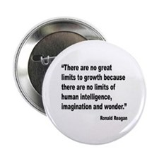 "Reagan Growth Quote 2.25"" Button"