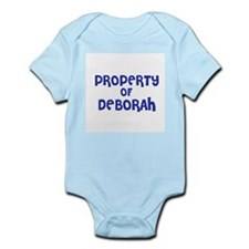 Property of Deborah Infant Creeper