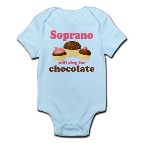 Chocolate Soprano Infant Bodysuit