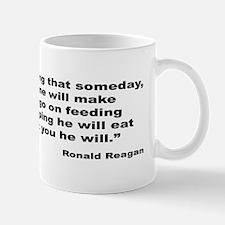 Reagan Crocodile Quote Mug