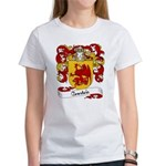 Courtois Family Crest Women's T-Shirt