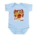 Courtois Family Crest Infant Creeper