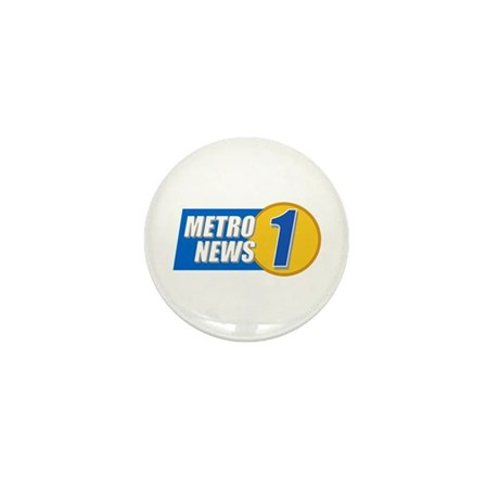 Metro News 1 Mini Button (10 pack)