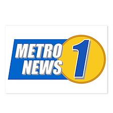 Metro News 1 Postcards (Package of 8)