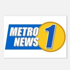 Metro News 1 Postcards (Package of 8)
