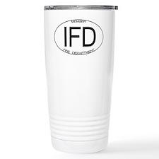IFD Fire Department Travel Mug