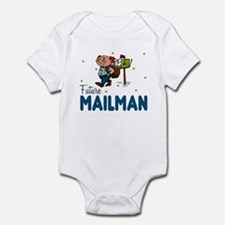 Future Mailman Baby Toddler Infant Bodysuit