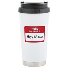 Hey Nurse Thermos Mug