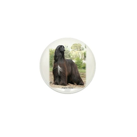 Afghan Hound Mini Button (10 pack)