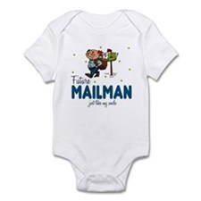 Future Mailman Like Uncle Baby Infant Bodysuit