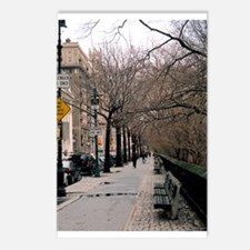 Cute Red new york Postcards (Package of 8)