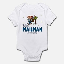 Future Mailman like Daddy Baby Infant Bodysuit