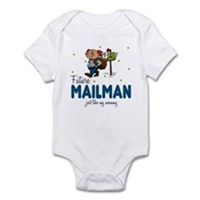 Future Mailman like Mommy Baby Infant Bodysuit