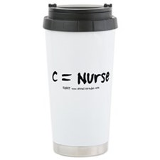 C = Nurse Travel Mug