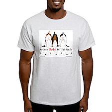 Nothin' Butt Rat Terriers Ash Grey T-Shirt